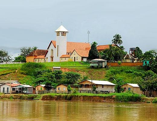 Porto Walter é um município que fica localizado no oeste do estado brasileiro do Acre